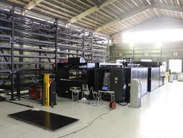 パンチ・ファイバーレーザ複合機2515C1AJと自動倉庫システムのMARS