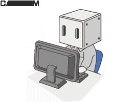 プログラム工程のキャラクターイラスト